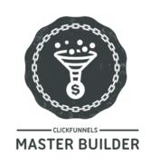 Click Funnels Master Funnel Builder Badge