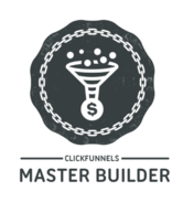 Click Funnels Master Funnel Builder Badge